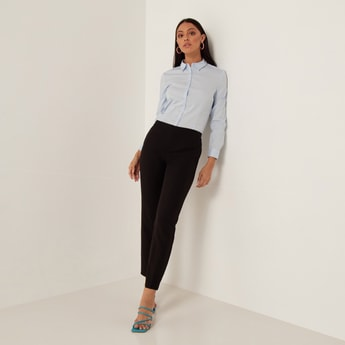 Formal Pants with 4-Pockets