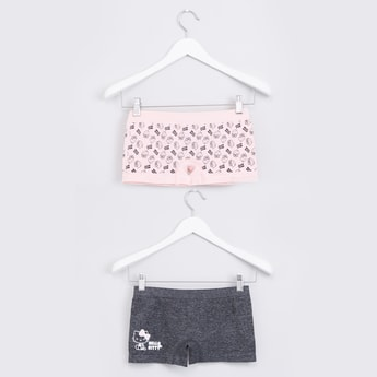 Hello Kitty Printed Briefs with Elasticised Waistband - Set of 2