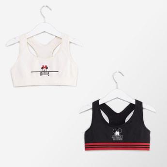 صدريّة رياضية بطبعات ميني وميكي ماوس - طقم من قطعتين