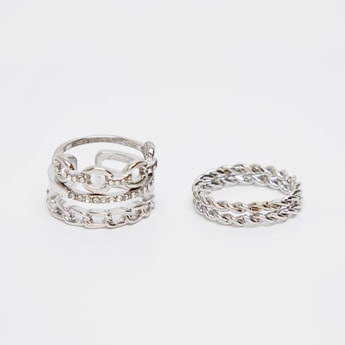 Set of 4 - Assorted Finger Ring