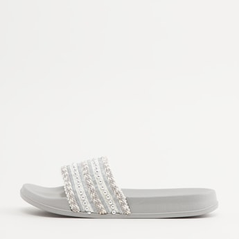 Embellished Strap Slides