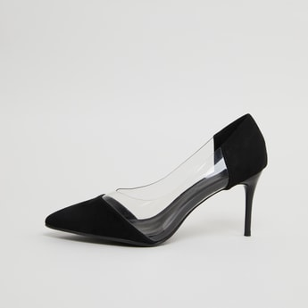 Pointed Toe Slip-On Pumps