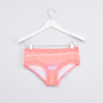 Ombre Printed Hipster Briefs with Elasticated Waistband