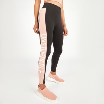 Slim Fit Tapered Leggings with Elasticised Waistband