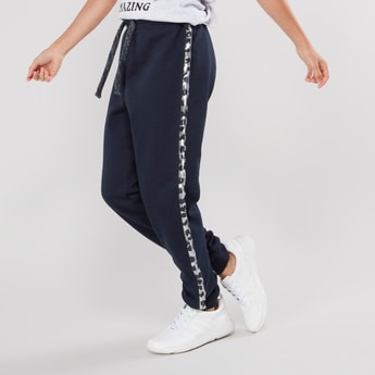 Plain Jog Pants with Elasticised Waistband with Drawstring