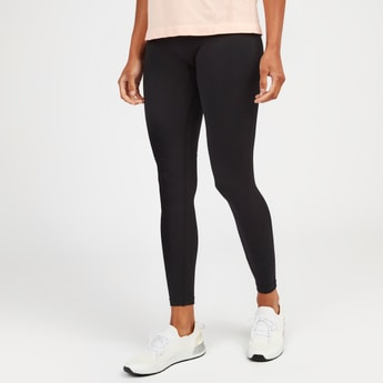 Textured Leggings with Elasicised Waistband