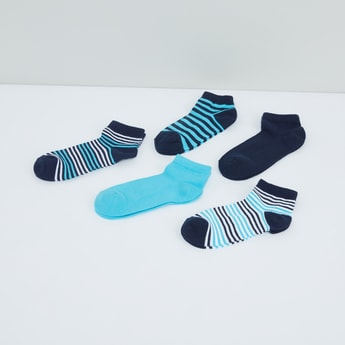 Assorted Ankle Length Socks - Set of 5