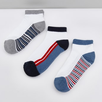 Striped Socks - Set of 3