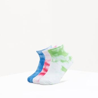 Set of 3 - Printed Crew Length Socks