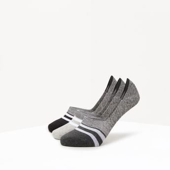 Set of 3 - Textured Cotton Socks