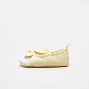 حذاء طويل بقوالب ملوّنة بتفاصيل فيونكة