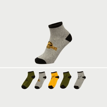Set of 5 - Assorted Ankle Length Socks