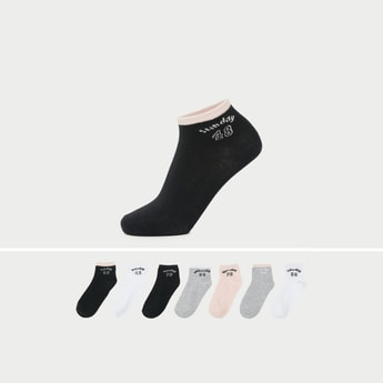 Set of 7 - Ankle Length Fashion Socks