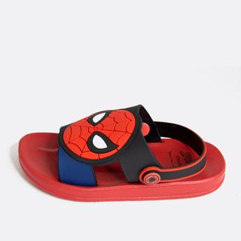 Spider-Man Applique Detail Sandals