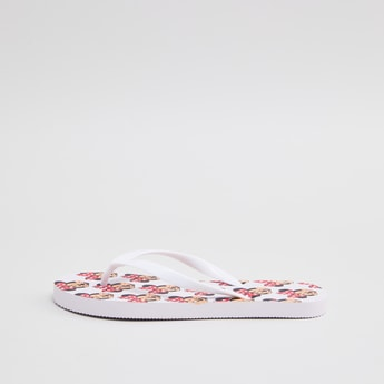 Minnie Mouse Printed Slippers