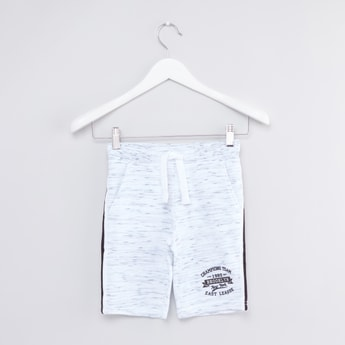 Printed Shorts with Tape Detail