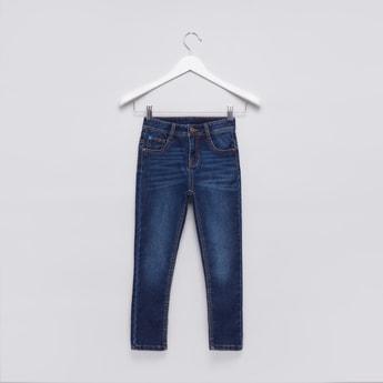 Full Length Pocket Detail Jeans