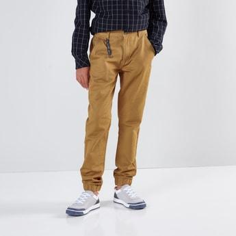 Jog Pants with Pocket Detail