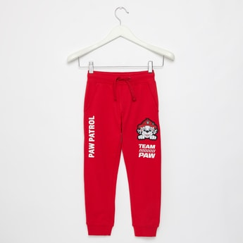 Full Length PAW Patrol Print Joggers with Pockets and Drawstring