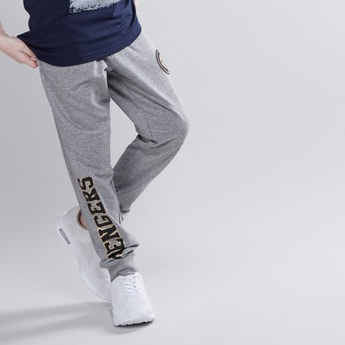The Avengers Printed Jog Pants with Elasticised Waistband