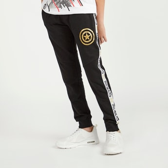 Avengers Printed Jog Pants with Pocket Detail