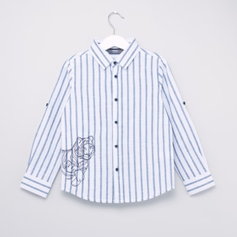 Striped Shirt with Long Sleeves