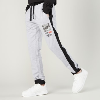 Star Wars Printed Jog Pants with Side Panel Detail