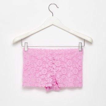 Lace Boyshorts with Elasticised Waistband
