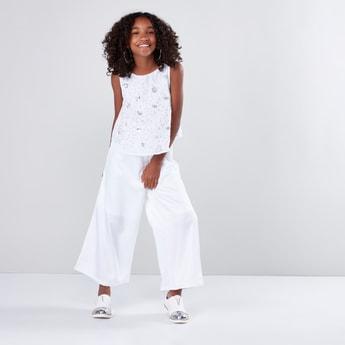 Embellished Sleeveless Jumpsuit