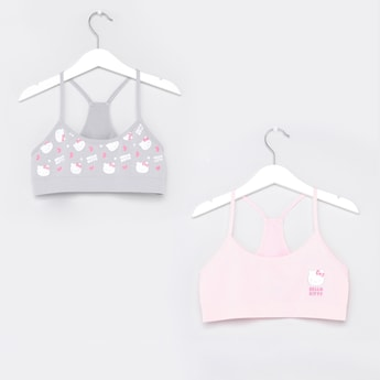 Set of 2 - Hello Kitty Printed Bra