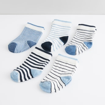 Striped Socks - Set of 5