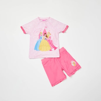 Princess Print 2-Piece Swimwear Set