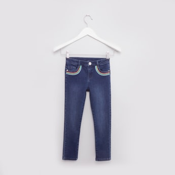 Denim Trousers with 5-Pockets
