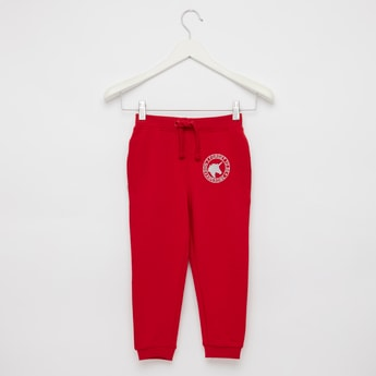 Solid Full Length Anti-Pilling Joggers with Drawstring String Closure