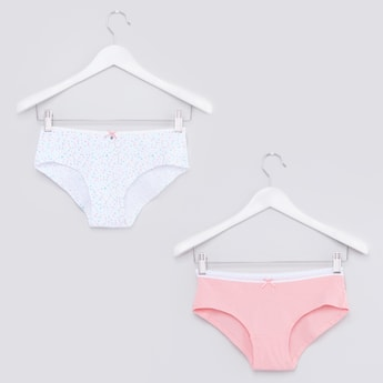 Bow Detail Hipster Briefs - Set of 2