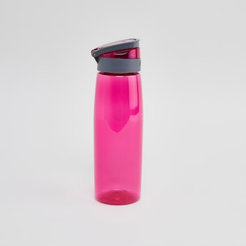 Sports Bottle with Push Open Lid