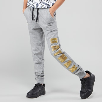 Batman Printed Jog Pants with Elasticised Waistband and Pocket Detail