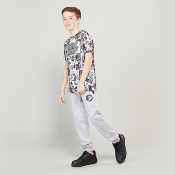 Star Wars Printed T-shirt and Joggers Set