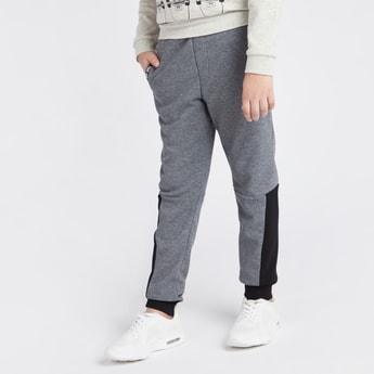 Knitted Jog Pants with Pockets and Drawstring