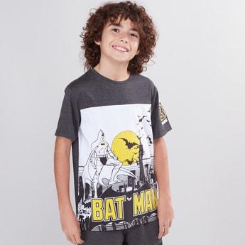 Batman Printed Round Neck T-Shirt