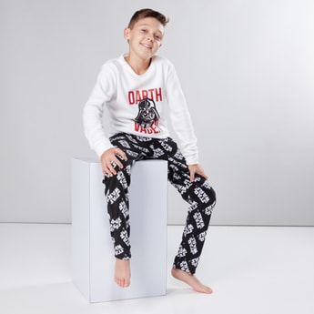 Star Wars Printed T-Shirt and Pyjama Set