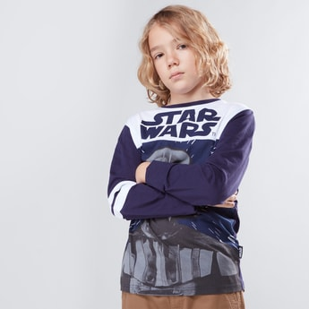 Star Wars Printed Long Sleeves T-Shirt