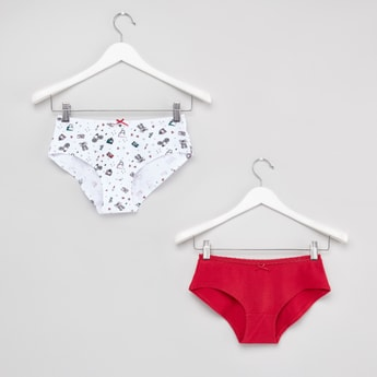 Assorted Hipster Briefs - Set of 2