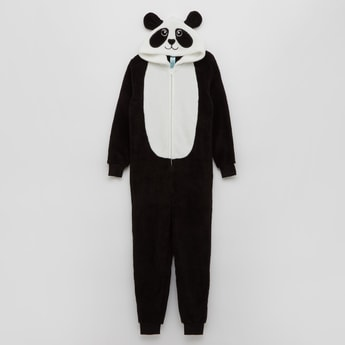 Hooded Panda Themed Onesie