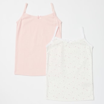 Set of 2 - Vests with Spaghetti Straps