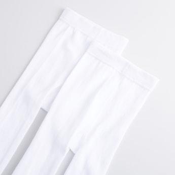 Set of 2 - Full Length Plain Tights