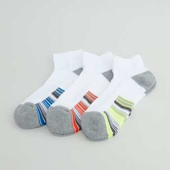 Set of 3 - Striped Ankle Length Socks