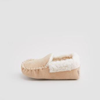 حذاء طويل بارز الملمس
