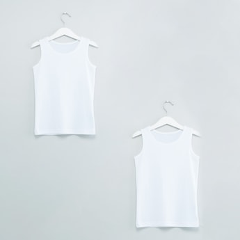 Scoop Neck Vest - Set of 2