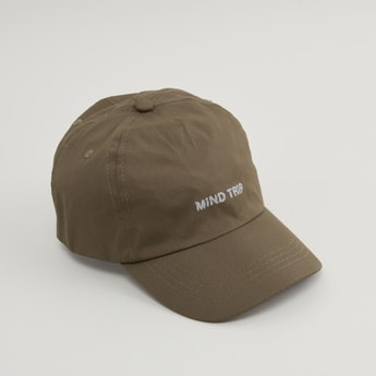 Printed Cap with Plastic Buckle Closure